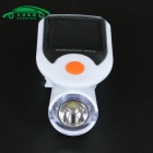 CARKING Solar Bike Light 4-Mode LED USB 2.0 Rechargeable Headlight