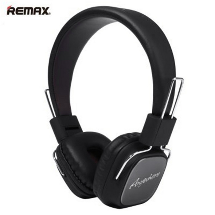 REMAX RM-100H 3.5mm Plug HiFi Headset - Svart