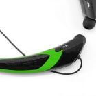 KWB HBS-760 auriculares bluetooth casco universal - negro + verde