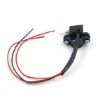 Leading Double Flash Switch Double Jump Switch for Motorcycle - Black