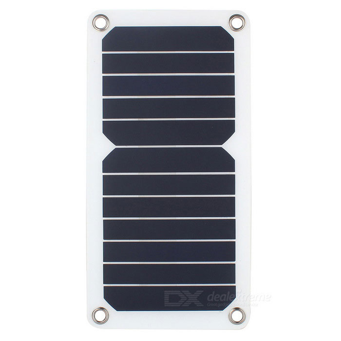 SUNWALK 6.5W High Efficiency Solar Panel Charger - White + BlackSolar Powered Gadgets<br>Form  ColorWhite + BlackModelSWH65UMaterialSUNPOWER Solar PanelQuantity1 DX.PCM.Model.AttributeModel.UnitPower6.5 DX.PCM.Model.AttributeModel.UnitWorking Voltage   5 DX.PCM.Model.AttributeModel.UnitOther FeaturesMaterialSUNPOWER Solar Cell; <br>Power: 6.5W; <br>Working Voltage: 5V; <br>Working Current: 1.3A; <br>Output USB; <br>Conversion rate: 24%Packing List1 * Solar Charger<br>