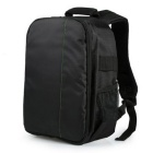 Outdoor Travel Photography Backpack - Black + Green (10L)