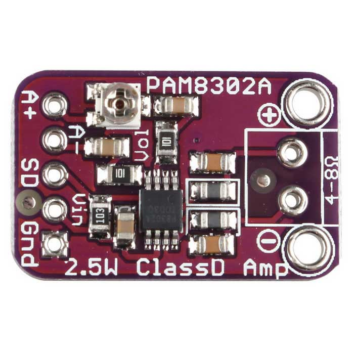 CJMCU832 PAM8302 2.5W Mono Class D Audio Amplifier Module Board