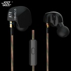 KZ ATR Universal Bass 3.5mm Plug In-ear Earphone w/ MIC - Black