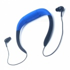 Outdoor Waterproof MP3 Player FM Radio Headphone w/ 8GB Memory - Blue
