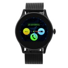 "KICCY US03 1.22"" TFT Bluetooth V3.0 + V4.0 Smart Wrist Watch - Black"