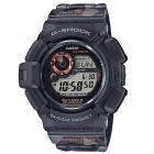 Casio G-Shock GW-9300CM-1 Tough Solar Mens Watch - Black + Orange