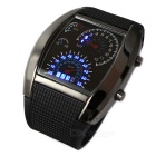 South Korean Style Sector Dashboard Display Watch - Black (1 * CR2016)