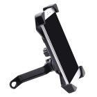 Mountain Bike Motorcycle Rearview Mirror Holder for Cell Phone - Black