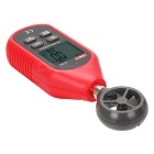 UNI-T UT363's High Precision Digital Anemometer - Red + Deep Grey