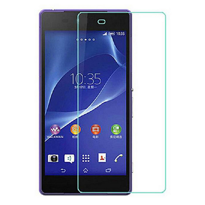 9H Tempered Glass Film for SONY Xperia Z2 - Transparent