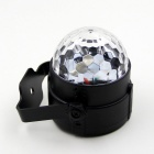 exLED 6W RGB Crystal Ball Music Player Bunte Sound-Sensor-Licht
