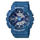 Casio G-Shock BA-110DC-2A2 Ladies Baby-G Watch -  Lake Blue