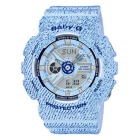 Casio G-Shock BA-110DC-2A3 Ladies Baby-G Watch -  Sky Blue