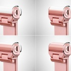 270 Degree Rotatable Selfie Stick for Android / iOS Device - Rose Gold