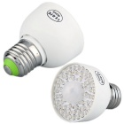 QooK E27 3W 54 LED Light Bulb Lamp Cold White