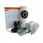 185 Camera Grau 1.0MP Rede Wireless Home Security (EU Plug)
