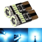 MZ T10 LED Car Clearance Light Ice Blue 240lm 15-4014 SMD (12V/2PCS)