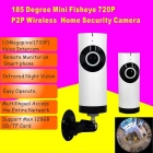 185 Degree 1.0MP Wireless Network Home Security Camera (US Plugs)