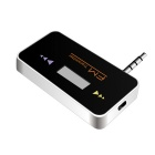 "LH-101 0.8"" LCD Rechargeable Car Handsfree FM Transmitter - Black"