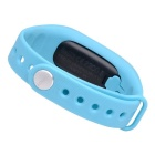 "CUBOT V1 0.88"" OLED Bluetooth V4.0 Smart Band Bracelet - Blue"