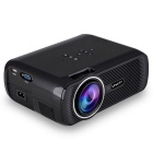 Android 4.4 LCD Projector w/ 1080P, HDMI, Wi-Fi - Black
