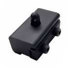 ACCU 11mm Aluminum Alloy Bipod Clip Adapter for Airsoft - Black