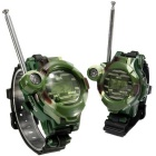 Outdoor Multifunction Free Speech Field Intercom - Camouflage (Pair)