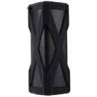 A6 Portable Wireless Stereo Bluetooth Speaker - Black