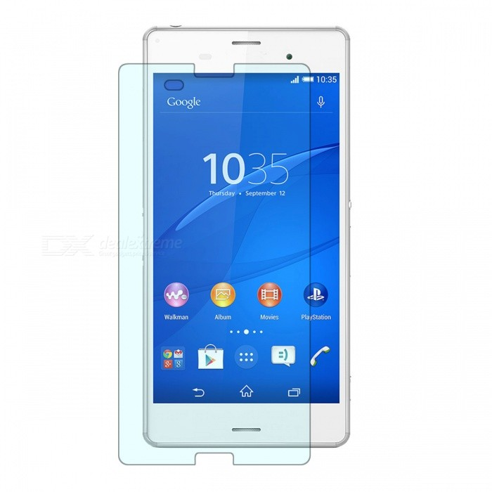 9H Tempered Glass Film for SONY Xperia Z3 - Transparent