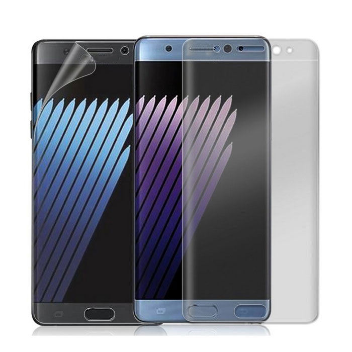 S ochranou proti explozi Soft Screen Protector Glass Film pro Samsung Note 7