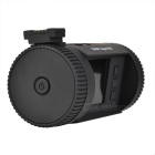 "Mini 0826 1.5"" 1296P HD LCD Screen GPS Car DVR Camcorder - Black"