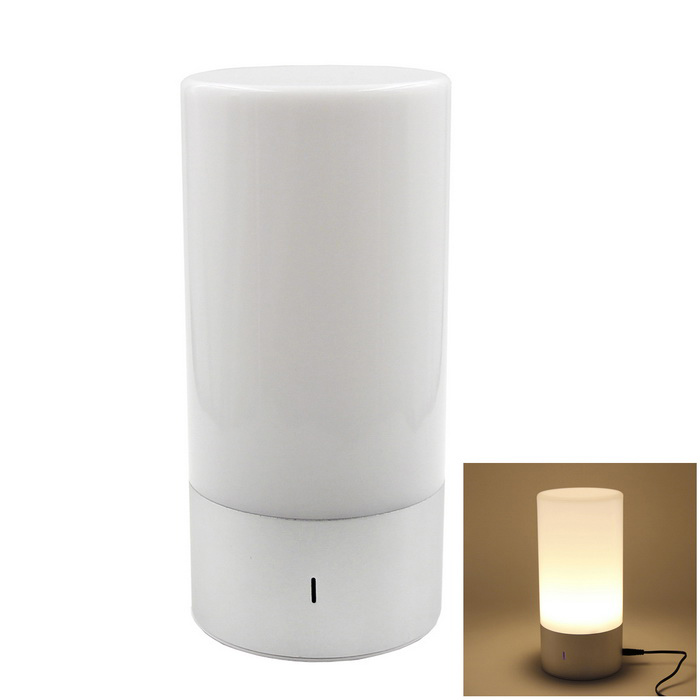 WL-32 Smart Wake Up Light Introducción Lámpara de mesa RGB LED-Plata