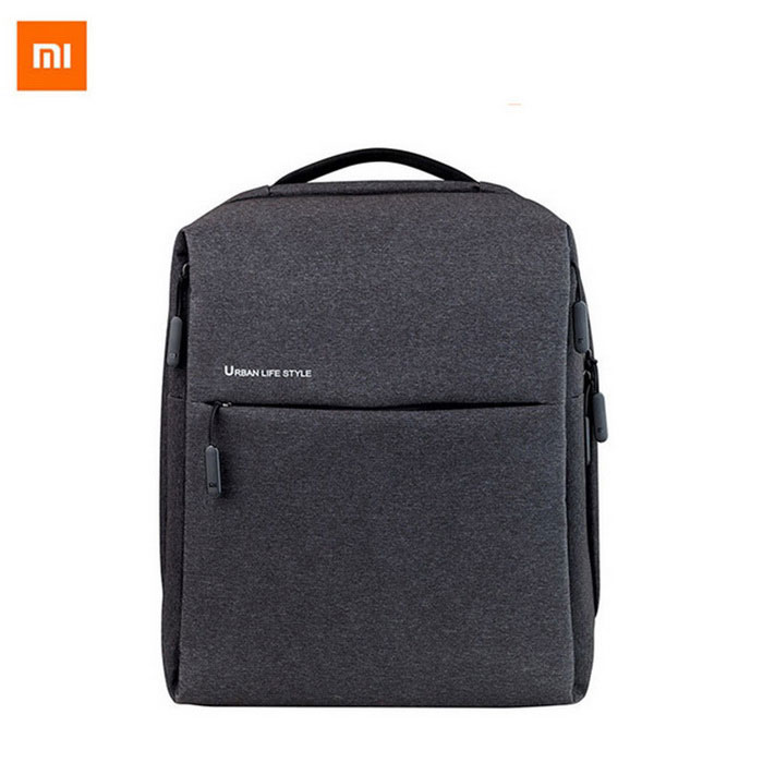 Xiaomi Minimalist Urban Waterproof Backpack for Women / Men- Deep GreyForm  ColorDark GreyBrandOthers,Others,XIAOMIModelMinimalist urban backpacksQuantity1 DX.PCM.Model.AttributeModel.UnitMaterialPolyesterTypeDaypackGear Capacity0-20 DX.PCM.Model.AttributeModel.UnitCapacity Range0L~20LFrame TypeFramelessRaincover includedNoBest UseSwimming,Running,Climbing,Family &amp; car camping,Mountaineering,Travel,Cycling,Others,FishingTypeHiking DaypacksOther FeaturesOriginal Xiaomi minimalist urban backpack for women and men; Waterproof backpack; Large capacity business bag or for travel.Packing List1 * Backpack<br>