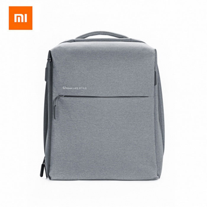 Xiaomi Minimalist Waterproof Backpack for Women / Men- Light GreyForm  ColorLight GreyBrandOthers,Others,XIAOMIModelMinimalist urban backpacksQuantity1 DX.PCM.Model.AttributeModel.UnitMaterialPolyesterTypeDaypackGear Capacity0-20 DX.PCM.Model.AttributeModel.UnitCapacity Range0L~20LFrame TypeFramelessRaincover includedNoBest UseRunning,Climbing,Family &amp; car camping,Mountaineering,Travel,Cycling,Others,FishingTypeHiking DaypacksWarranty1Packing List1 * Backpack<br>