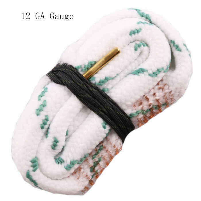 Snake Style Rifle Bore Cleaner for 12 GA Gauge Caliber Gun