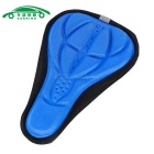 Cycling Saddle Seat Mat Comfortable Cushion Soft Seat Cover - Blue