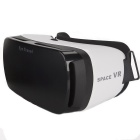 "SPACE VR Box Virtual Reality Glasses For 4.5""~5.5"" Smartphones - White"