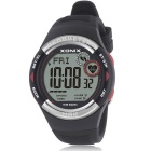 XONIX HRM3 Heart Rate Monitor Pedometer Watch - Black