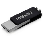 Maikou MK0008 Creative 64GB USB 2.0 Flash Drive Disk - Black