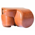 Dustproof Drop-proof Protective Leather Camera Case Cover Bag