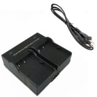 BP511 Digital Camera Battery Dual Charger for Canon EOS 300D + More