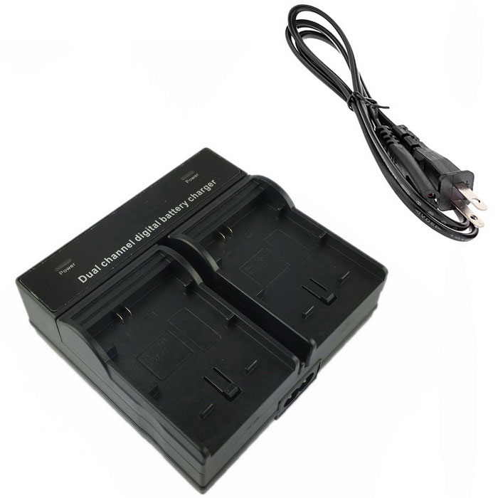FW50 Digital Camera Battery Dual Charger for Sony A5000 5100 A7R NEX7