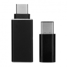 3.1 Type-C to Micro USB + 3.0 OTG Adapter - Gold