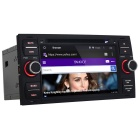 Alegre 1024 * 600 Android 5.1 Radio 2 Din DVD do carro para Ford - Black