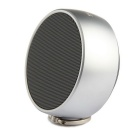 TRANGU BS-02 Chess Bluetooth V4.0 Portable Speaker - Silver