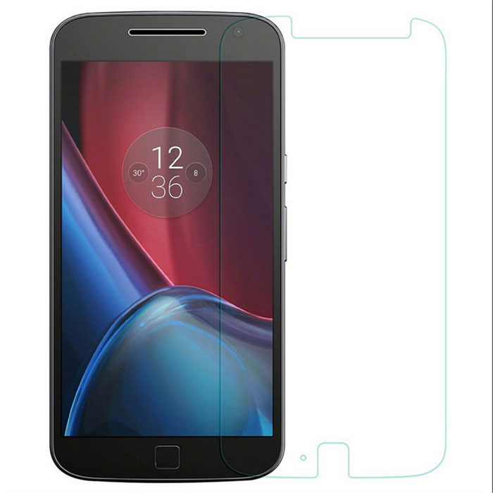 9H Tempered Glass Film for MOTO G4 Plus - Transparent