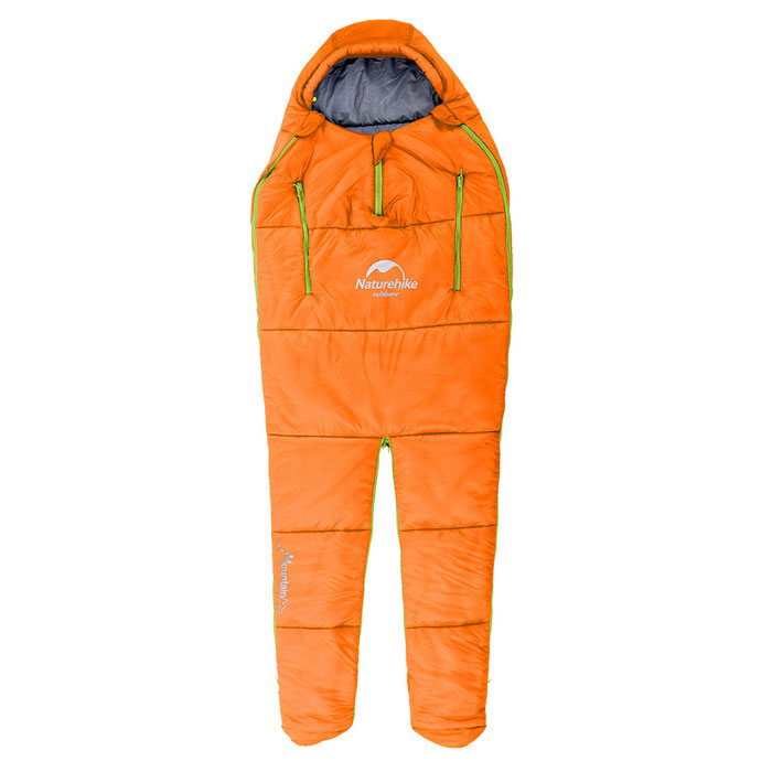 Naturehike coton Garnissage Sac de couchage pour le camping - Orange (L)