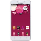 "Lenovo A858 5 ""Quad-Core 4G Android Phone w / 1GB de RAM, 8GB ROM - Branco"
