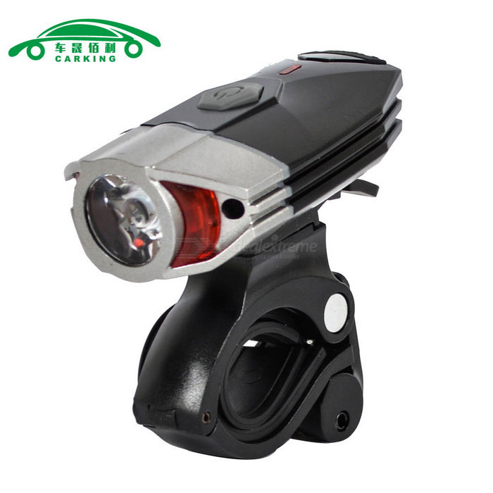 CARKING super luminoso USB recargable bicicleta faro neutro blanco